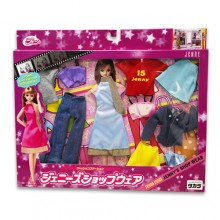 JENNY DOLLS ACCESSORIES 珍妮娃娃飾物  295441- JENNY DRESS (LIGHT BLUE)