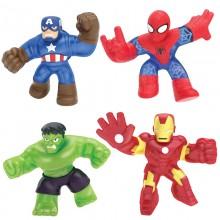 功夫英雄-4件套裝(預售, 6月中到貨) - 蜘蛛俠, 鐵甲奇俠, 美國隊長, 變形俠醫 (4件套裝 5月31日前購買包順豐本地運費)