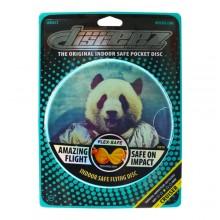 """DISCEEZ S2 -6""""同行飛碟 (太空熊貓) DISCEEZ INDOOR FLYING DISC-SERIES 2 (SPACE PANDA)"""