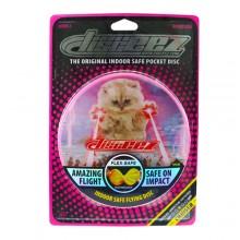 """DISCEEZ S2 -6""""同行飛碟 (鐳射貓咪) DISCEEZ INDOOR FLYING DISC-SERIES 2 (LASER CAT)"""