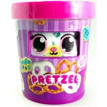 34310小小毛公仔動物美食家- 椒鹽捲餅MINI PLUSH - FOODIE ROOS PRETZELS (毎種味道有兩個款式 隨機發貨)