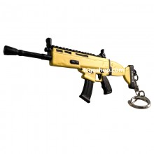 FORTNITE 12CM 3D METAL WEAPONS KEYCHAIN 要塞英雄-3D金屬武器匙扣