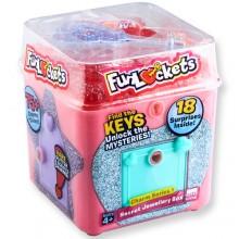 FUNLOCKETS JEWELRY BOX 神秘驚喜小盒子(PINK粉紅色)