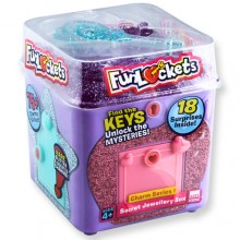 FUNLOCKETS JEWELRY BOX 神秘驚喜小盒子(Purple紫色)