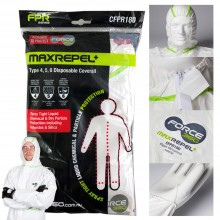 Force360 MaxRepel+ Disposable Coverall 澳洲品牌保護衣