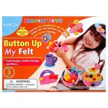 KUMON - 扣動創意設計組合(US) BUTTON-UP MY FELT