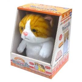 MIMICRY PET SCOTTISH FOLD WHITE/BROWN 鳴聲寵物--蘇格蘭摺耳貓