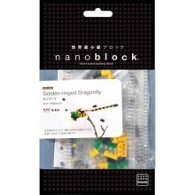 IST-006 nanoblock  蜻蜓 nanoblock GOLDEN-RINGED DRAGONFLY
