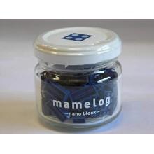 MAMELOG - 深藍色 DARK BLUE BLOCKS IN BOTTLE