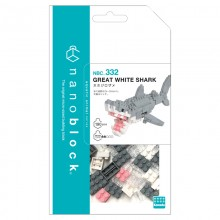 NBC-332 GREAT WHITE SHARK Ver. 2.0  nanoblock 海洋獵人‧大白鯊