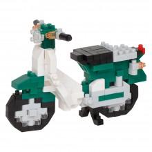 NBC-357 nanoblock HONDA SUPER CUB 50(GREEN) 本田小型電單車‧Super Cub薄荷綠