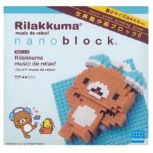 NBH-070 RILAKUMA WITH HEADPHONES-輕鬆小熊.音樂遊樂