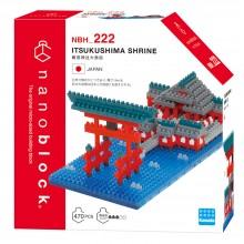 NBH-222 nanoblock ITSUKUSHIMA SHRINE 日本廣島縣‧嚴島神社大鳥居