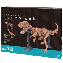 NBM-012 NANOBLOCK-暴龍骨格模型(Deluxe版) T-REX SKELETON MODEL