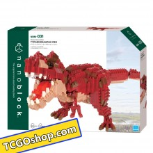 NBM-031 nanoblock Dinosaur Deluxe Edition TYRANNOSAURUS REX  nanoblock  暴龍王者(別注珍藏版)
