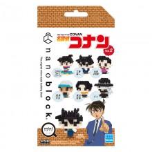 NBMC-18S mininano Detective Conan Vol.2  nanoblock 名偵探柯南2.0(迷你Q版) 1包