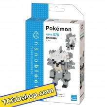 NBPM-076 nanoblock Pokémon DAKUMA 熊徒弟