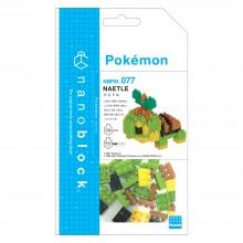 NBPM-077 nanoblock Pokémon NAETLE 草苗龜