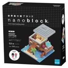 NBI-002 快樂度假屋 NANOBLOCK RESORT COTTAGE