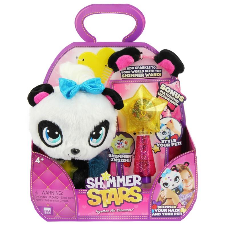 SHIMMER STARS PIXIE THE PANDA  星之寵物 - 熊貓阿P