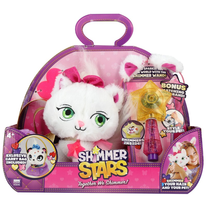 SHIMMER STARS JELLY BEAN CAT AND BAG  星之寵物 - 豆豆MEOW連小手袋