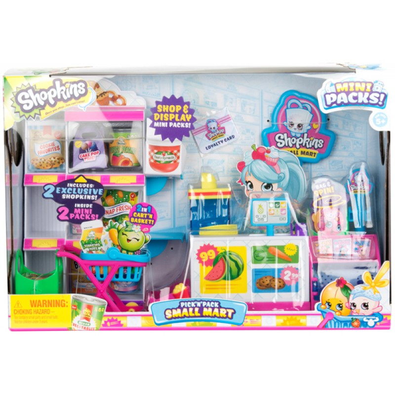 56753 SHOPKINS S10 - SMALL MART PLAYSET