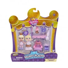 57592HAPPY PLACES皇室時尚驚喜收集套裝-賓尼兔 SHOPKINS HAPPY PLACES S7 WELCOME PACK-BEDROOM PACK