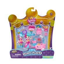 57594HAPPY PLACES皇室時尚驚喜收集套裝- 糖果食SHOPKINS HAPPY PLACES S7 WELCOME PACK-PARTY PACK
