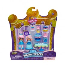 57595HAPPY PLACES皇室時尚驚喜收集套裝- 狐狸梳SHOPKINS HAPPY PLACES S7 WELCOME PACK-CANDY BAR PACK