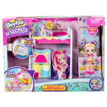 SHOPKINS LITTLE SECRETS BEDROOM HIDEAWAY