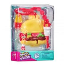 Shopkins小小秘密 3-掛墜盒(2件裝) -為食漢堡包店 BURGER BITE DINER