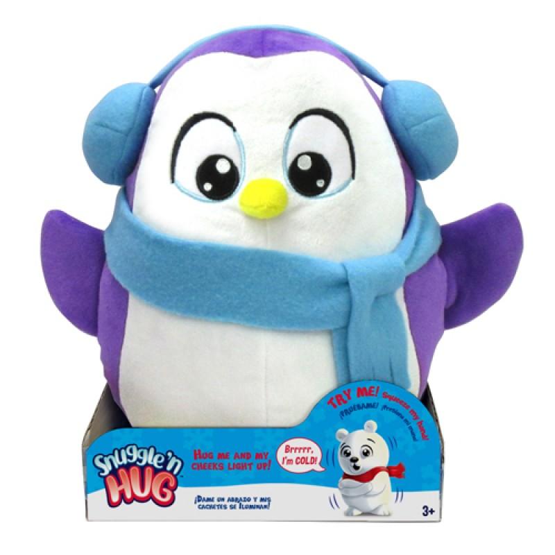 SNUGGLE'N HUG PLUSH - PENGUIN 擁抱我吧! 賣萌企鵝