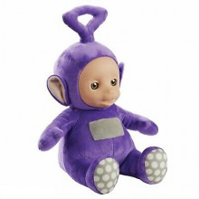 "06609 TELETUBBIES 16"" TALKIN PLUSH TINKY WINKY"