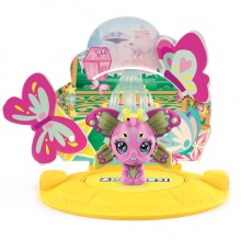 ZOOBLES 爆趣小彈丸 ANIMALS & HAPPITAT -1 PACK (Fairy Butterfly FEFE FLUTTERZ) 動物大變身場景系列 (1粒裝-斑蘭蝴蝶)