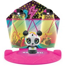 ZOOBLES 爆趣小彈丸 ANIMALS & HAPPITAT -1 PACK (Hip Hop Panda BAM BAE) 動物大變身場景系列 (1粒裝-霹靂熊貓)