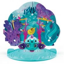 ZOOBLES 爆趣小彈丸 ANIMALS & HAPPITAT -1 PACK (Mermaid Fish AQUALINA) 動物大變身場景系列 (1粒裝-美人魚)