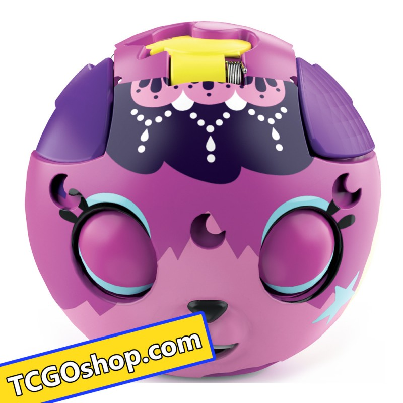 ZOOBLES 爆趣小彈丸 ANIMALS & HAPPITAT -1 PACK (Goth Kitty KOSMIC KITTY) 動物大變身場景系列 (1粒裝-月亮喵喵)