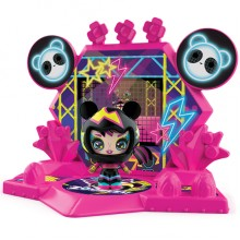 ZOOBLES 爆趣小彈丸 GIRL & HAPPITAT -1 PACK (Hip Hop Panda BAM BOP) 彈丸女大變身場景系列 (1粒裝-熊貓彈丸女)