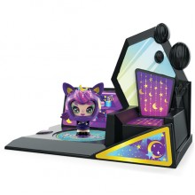 ZOOBLES 爆趣小彈丸 GIRL & HAPPITAT -1 PACK (Goth Kitty KOSMIC KELLY) 彈丸女大變身場景系列 (1粒裝-喵喵彈丸女)