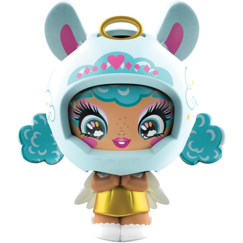 ZOOBLES 爆趣小彈丸 GIRL & HAPPITAT -1 PACK (Angel Llama HEY-LO) 彈丸女大變身場景系列 (1粒裝-草泥馬彈丸女)