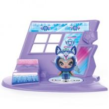 ZOOBLES 爆趣小彈丸 GIRL & HAPPITAT -1 PACK (Snowy Owl SNOWFIE) 彈丸女大變身場景系列 (1粒裝-貓頭鷹彈丸女)